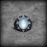 bague aigue marine argent 925 macrame aqua marina silver ring kaprisc creation 2014 (1)