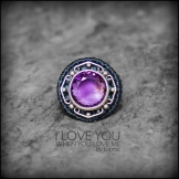 bague amethyste argent 925 macrame silver ring kaprisc creation 2014 (1)