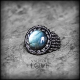 bague labradorite macrame ring kaprisc jewelry 2014 (6)