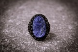bague lapis lazuli brute raw macrame ring kaprisc sept 2013 (3)