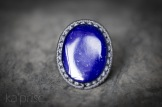 bague lapis lazuli macrame ring (1)