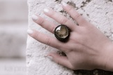 bague obsidienne doree macrame gold obsidian ring kaprisc 2013 (5)