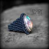 bague opale argent 925 macrame oapl silver ring kaprisc creation 2014 (2)