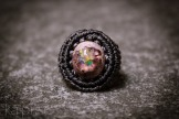 bague opale mexique macrame boulder opal ring (1)