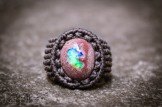 bague opale mexique macrame boulder opal ring kaprisc (7)