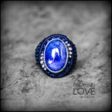 bague tanzanite argent 925 macrame silver ring kaprisc creation 2014 (1)