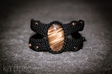 bracelet oeil tigre macrame tiger eye kaprisc (1)