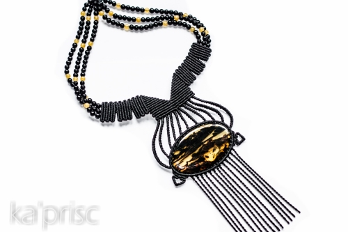 collier ambre macrame ambar necklace (7)
