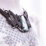 collier turquoise macrame necklace (14)