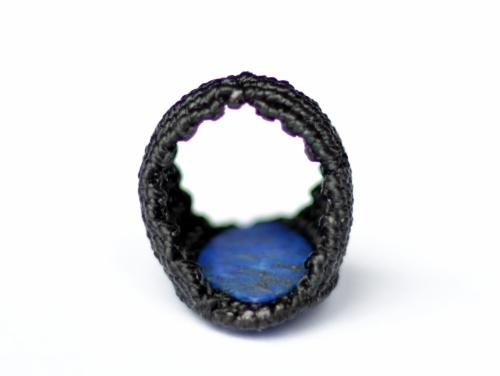 bague lapis lazuli macrame ring (3)