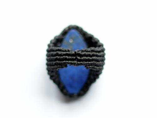 bague lapis lazuli macrame ring (4)