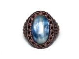 bague kyanite macrame ring (1)