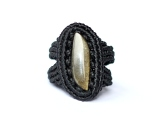 bague obsidienne macrame obsidian ring (42)