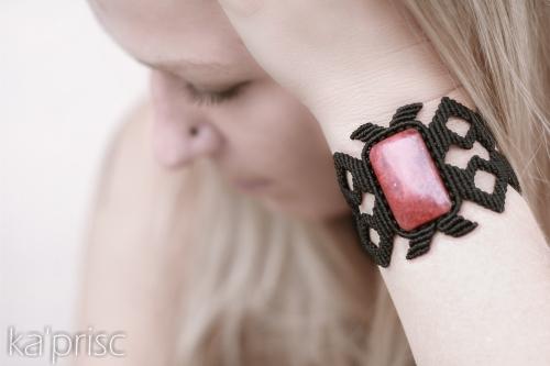 bracelet cuprite macrame (6)