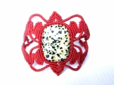 bracelet jaspe dalmatien jasper (1)