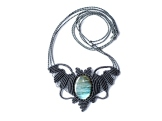 collier labradorite macrame necklace (18)