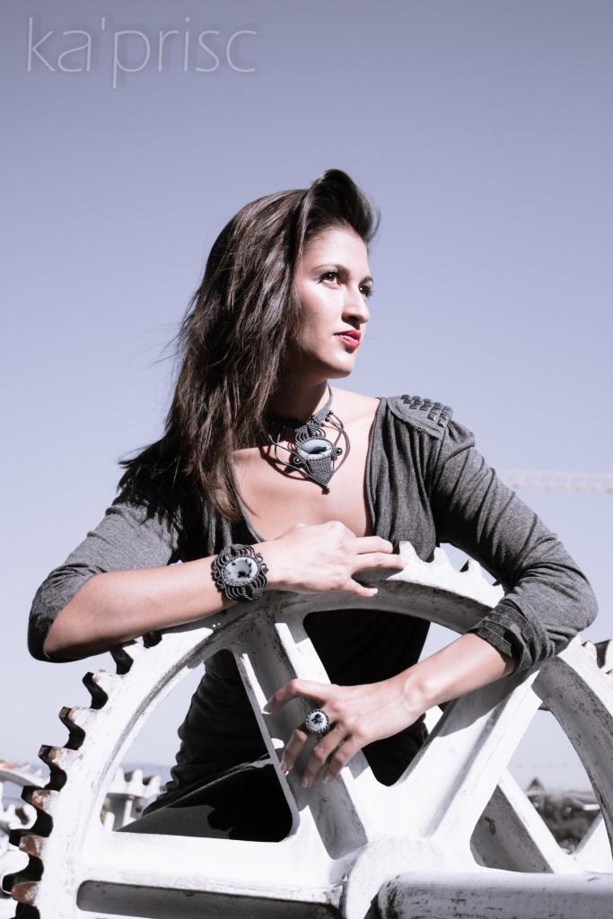 kaprisc macrame agate dendritique bague bracelet collier photo shooting ring necklace sept 2013 (8)
