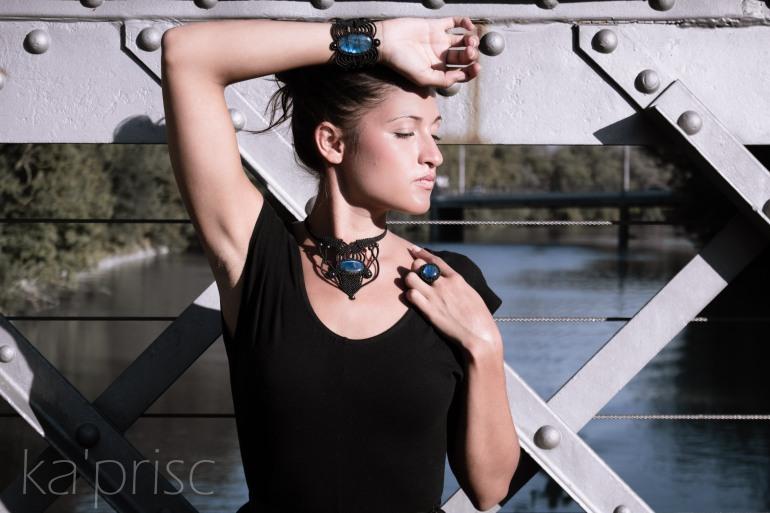 kaprisc macrame labradorite bague bracelet collier photo shooting ring necklace sept 2013 (1)