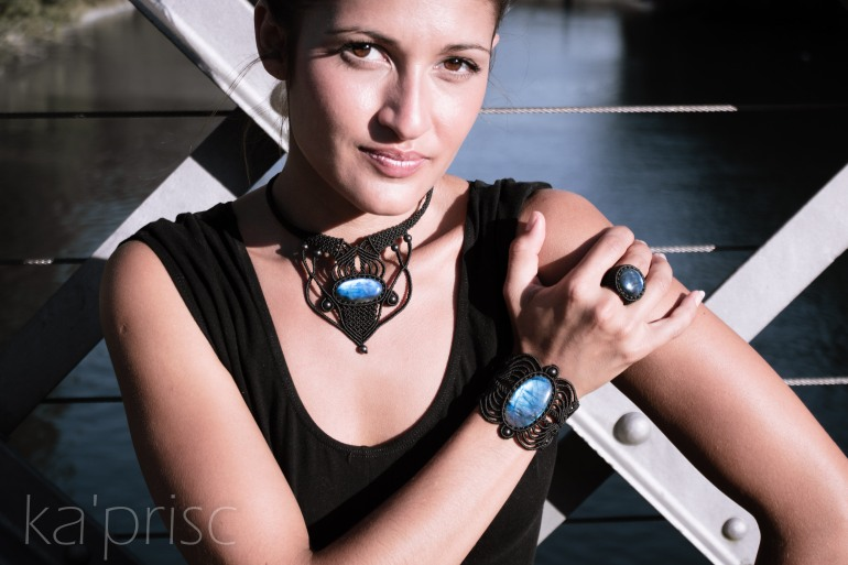 kaprisc macrame labradorite bague bracelet collier photo shooting ring necklace sept 2013 (8)