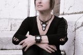collier agate drusy macrame drewsy raw agate necklace (3)