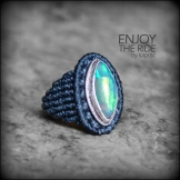 bague opale argent 925 macrame oapl silver ring kaprisc creation 2014 (3)
