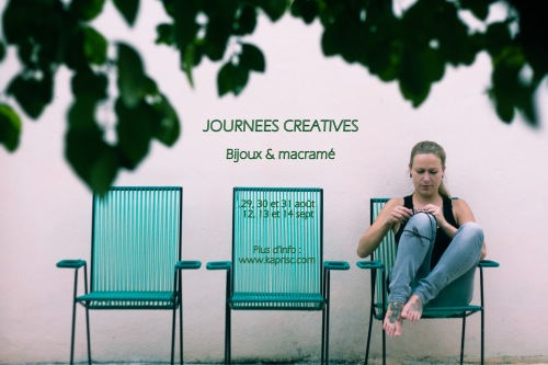 Journées Créatives Bijoux & Macramé
